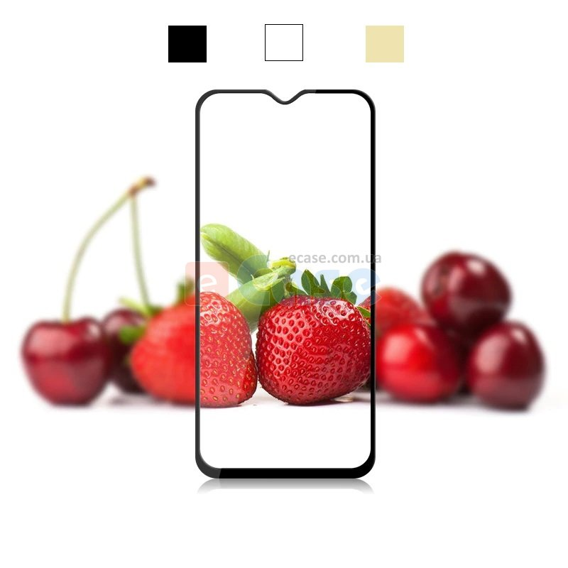 Защитное стекло для Samsung Galaxy A30s (A307F) (Tempered Glass Frame 2,5D) с рамкой фото 1 — eCase
