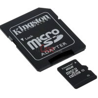 Карта памяти Kingston microSDHC (Class 10) 8Gb фото 2 — eCase