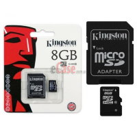 Карта памяти Kingston microSDHC (Class 10) 8Gb фото 3 — eCase