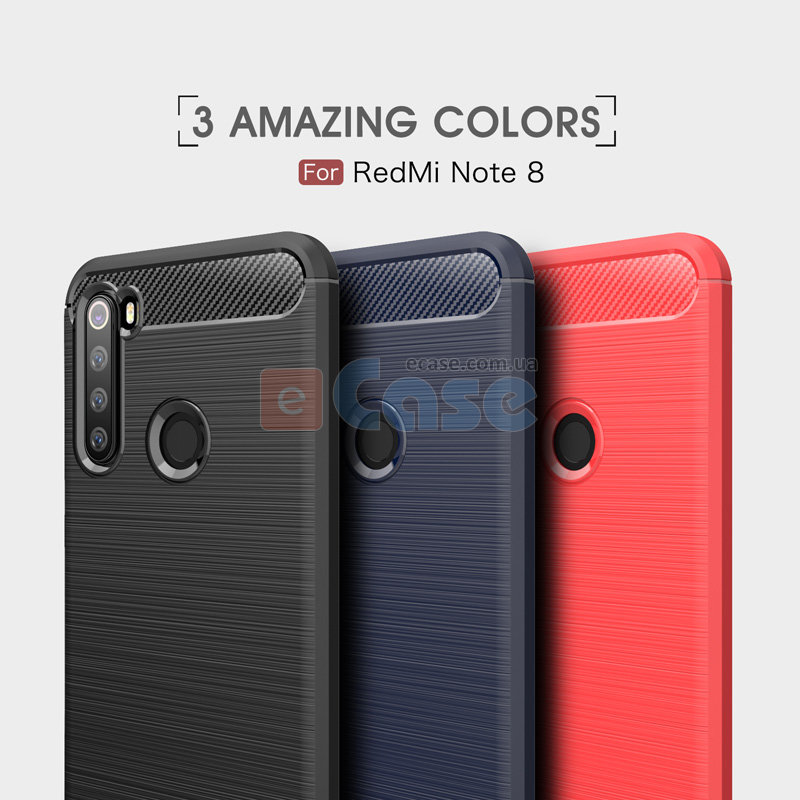 ТПУ чехол (накладка) iPaky SLIM TPU Series для Xiaomi Redmi Note 8 фото 1 — eCase