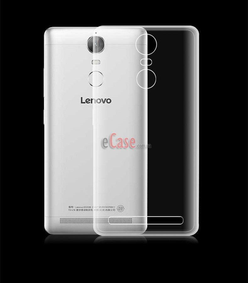 Прозрачная ТПУ накладка для Lenovo A7020 Vibe K5 Note (Crystal Clear)