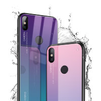 Накладка TPU + Glass Colorful для Xiaomi Mi8 фото 2 — eCase