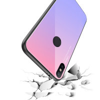 Накладка TPU + Glass Colorful для Xiaomi Mi8 фото 3 — eCase