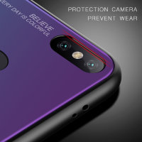 Накладка TPU + Glass Colorful для Xiaomi Mi8 фото 5 — eCase