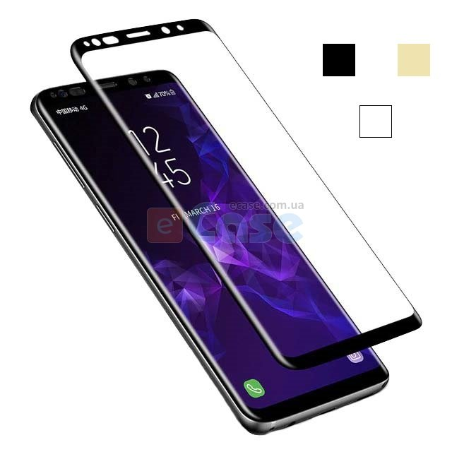 Защитное стекло для Samsung Galaxy Note 9 (Tempered Glass Frame 2,5D) с рамкой фото 1 — eCase