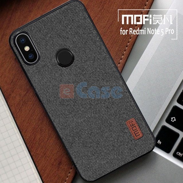 quality design 85051 a5484 Накладка MOFI Fabric Case для Xiaomi Redmi Note 5 Pro, купить по цене 239  грн. в Киеве — eCase
