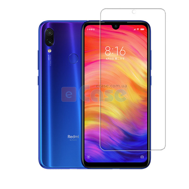 Защитное стекло для Xiaomi Redmi Note 7 Pro (Tempered Glass) фото 1 — eCase
