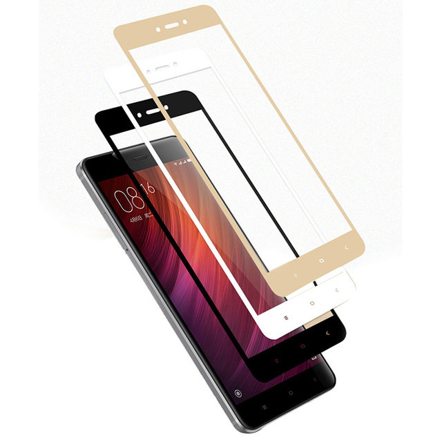Защитное стекло для Xiaomi Redmi Note 4X (Tempered Glass Frame 2,5D) с рамкой фото 1 — eCase