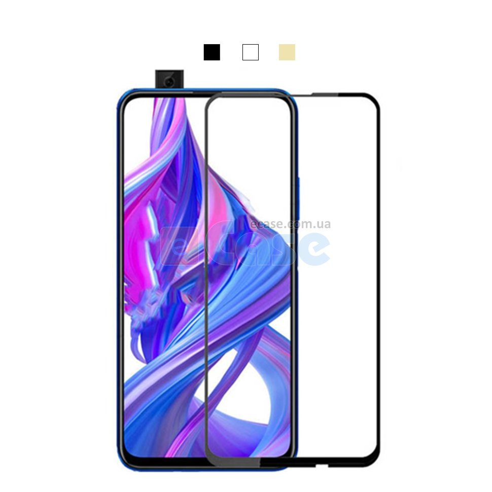 Защитное стекло для Huawei Honor 9X (Tempered Glass Frame 2,5D) с рамкой фото 1 — eCase