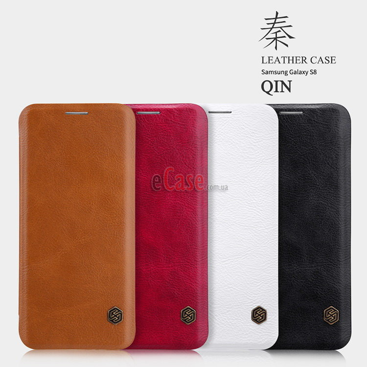 Чехол (книжка) Nillkin Qin для Samsung G955F Galaxy S8 Plus фото 1 — eCase