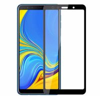 Защитное стекло 3D Full-screen Color Frame для  Samsung A750 Galaxy A7 2018 фото 2 — eCase