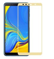 Защитное стекло 3D Full-screen Color Frame для  Samsung A750 Galaxy A7 2018 фото 3 — eCase