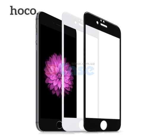 Защитное 3D стекло HOCO (с рамкой) для iPhone 7 Plus фото 1 — eCase