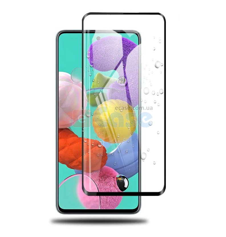 Защитное стекло 3D Full-screen Color Frame для Samsung Galaxy A51 (A515F) фото 1 — eCase