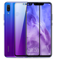 Защитное стекло для Huawei Honor Play (Tempered Glass Frame 2,5D) с рамкой фото 1 — eCase