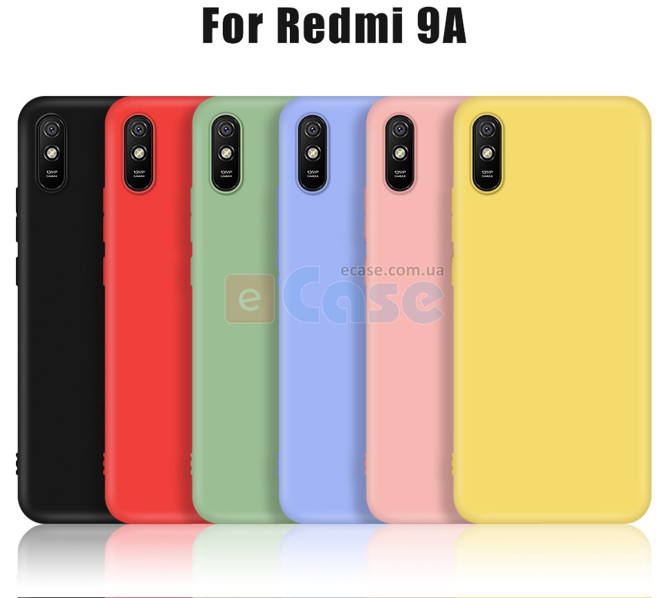 ТПУ накладка Silky Full Cover для Xiaomi Redmi 9A фото 1 — eCase