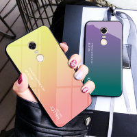 Накладка TPU + Glass Colorful для Xiaomi Redmi 5 Plus фото 2 — eCase