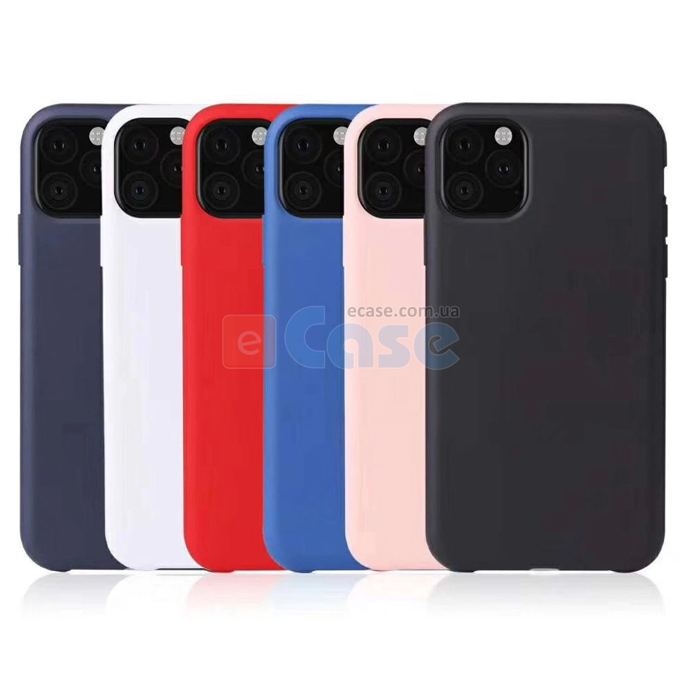 ТПУ накладка Silky Color для iPhone 11 фото 1 — eCase