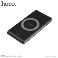 Внешний аккумулятор HOCO B32 Energetic Wireless Power Bank 8000mAh фото 9 — eCase