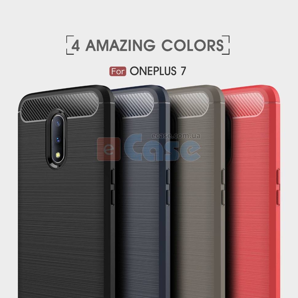 ТПУ чехол (накладка) iPaky SLIM TPU Series для OnePlus 7 фото 1 — eCase