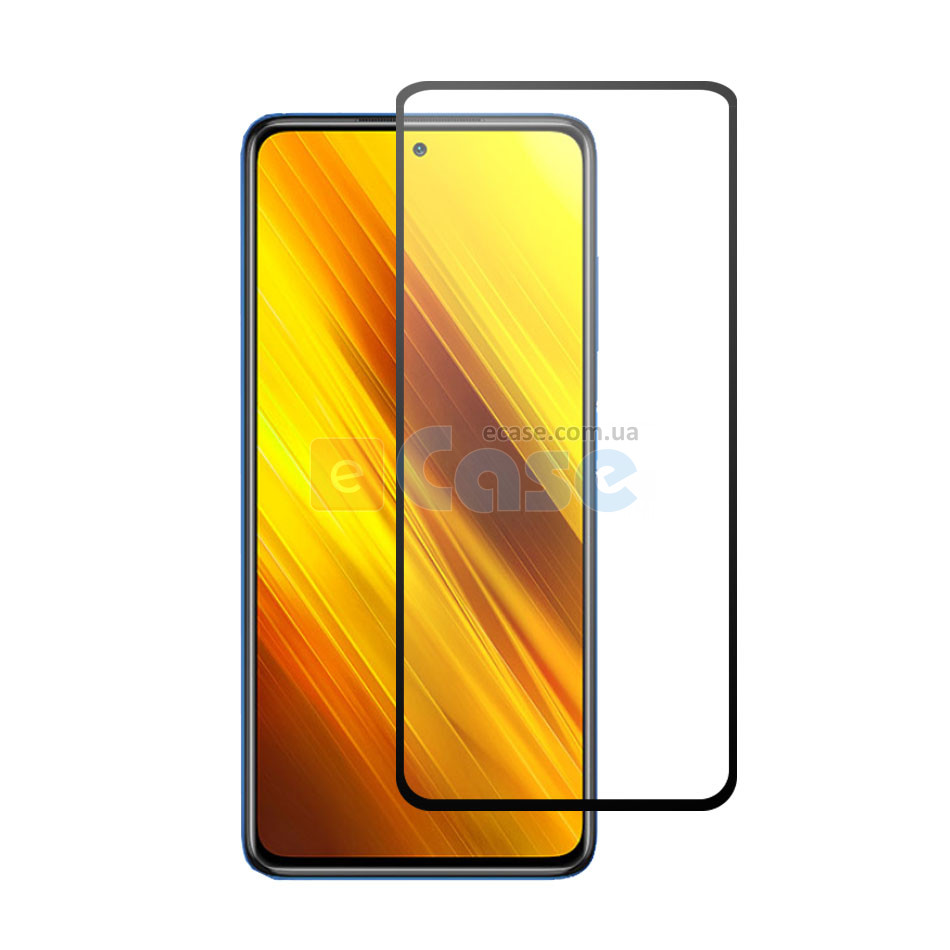 Защитное стекло для Xiaomi Redmi K40 Pro (Tempered Glass Frame 2,5D) с рамкой фото 1 — eCase
